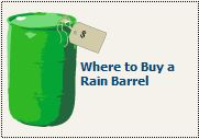 where to buy a rain barrel
