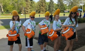 After winning their 11th consecutive Nebraska championship, Bellevue Mission Middle School team is heading to the National Science Olympiad Tournament in Wisconsin excited to share their Nebraska H2o bags with students from across the country.